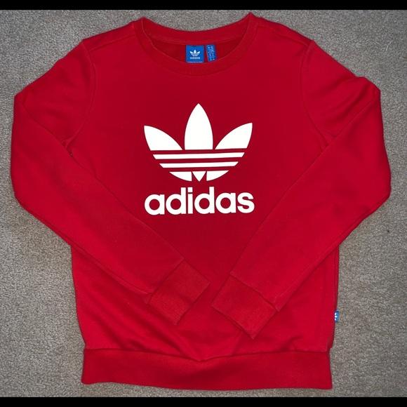 adidas Tops - Adidas Crew-Neck